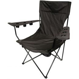 Creative Outdoor 810169 Folding Kingpin Chair (Black)