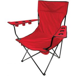 Creative Outdoor 810170 Folding Kingpin Chair (Red)