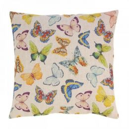 Bright Butterflies Decorative Pillow