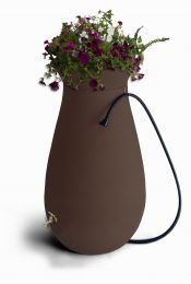 65-Gallon Dark Brown Rain Water Collection System