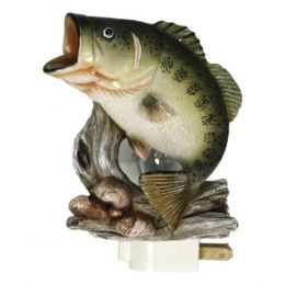Rivers Edge Bass 3D Night Light