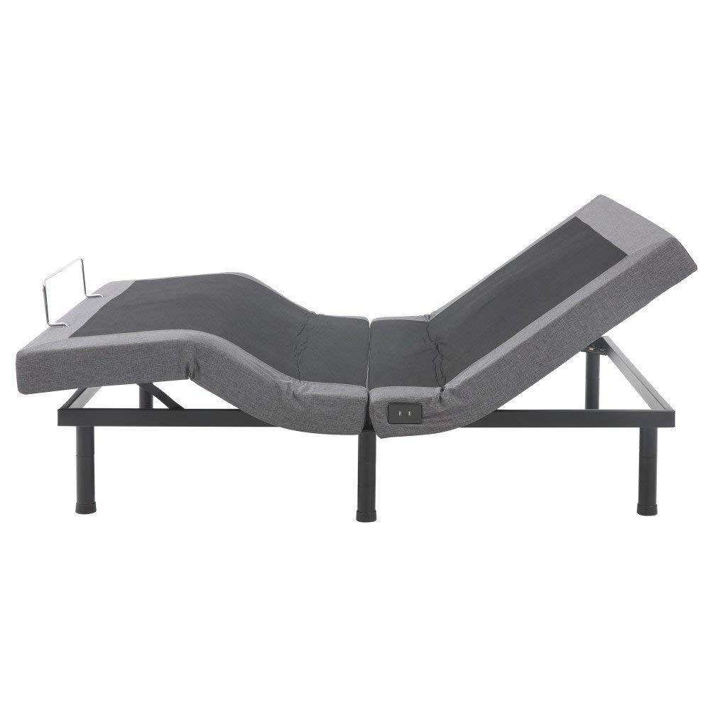 Twin XL Adjustable Bed Frame Base with Wireless Remote and ...