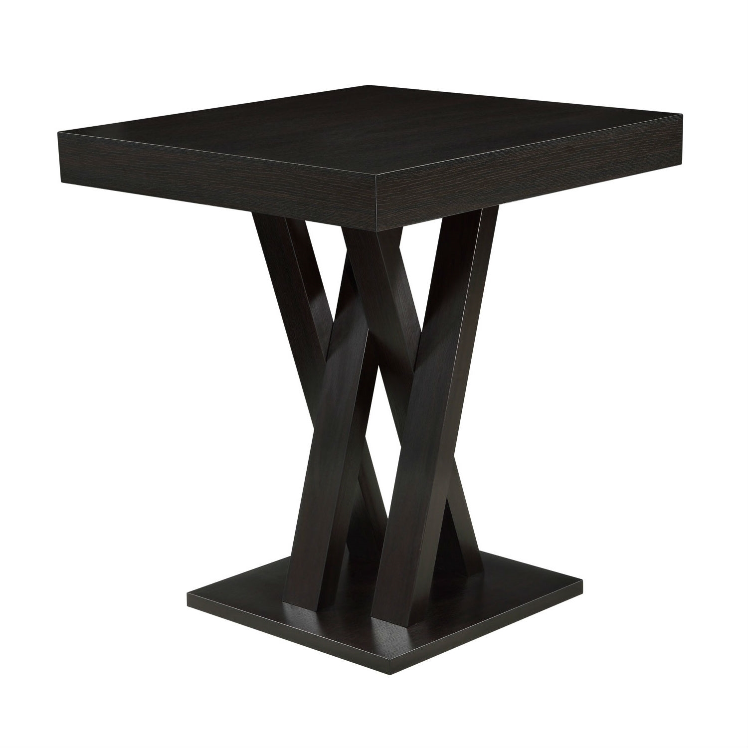 Modern 40 Inch High Square Dining Table